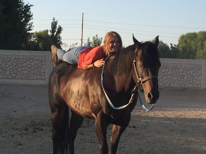 girl horse 2