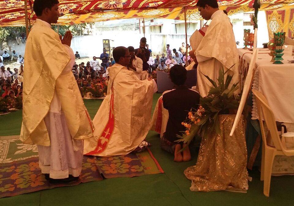 Ordination of Chandrasekhar Naik OCD