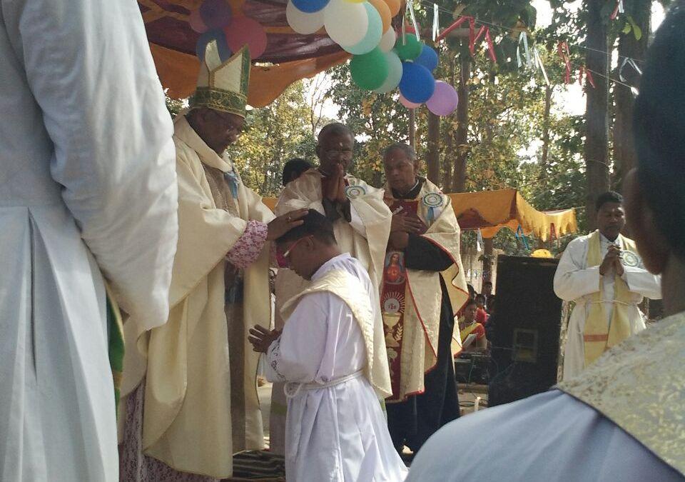 PRIESTLY ORDINATION OF OUR CONFRERE PANKAJ LAKRA OCD