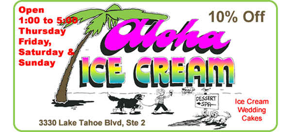 Aloha Icecream Open TFSS 1 to 5 Wedding Cakes