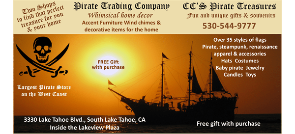 Pirate Trading Company Free Gift with Purchase