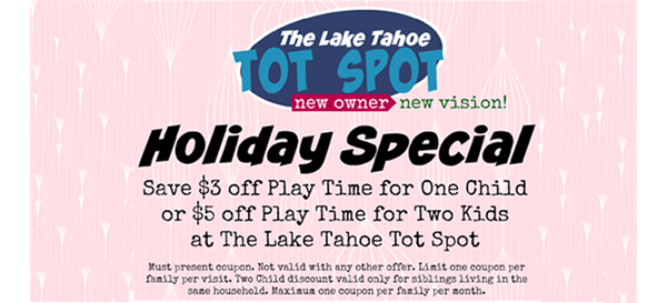 Tot Spot Holiday special coupon