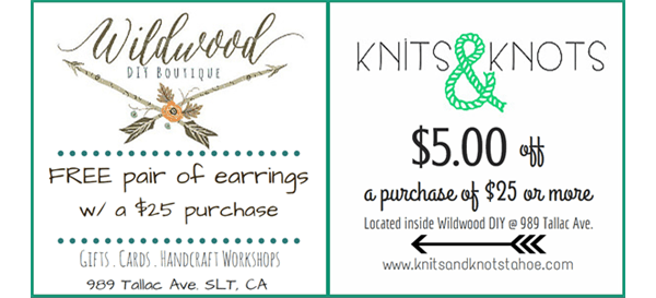 Wildwood & Knits & Knots