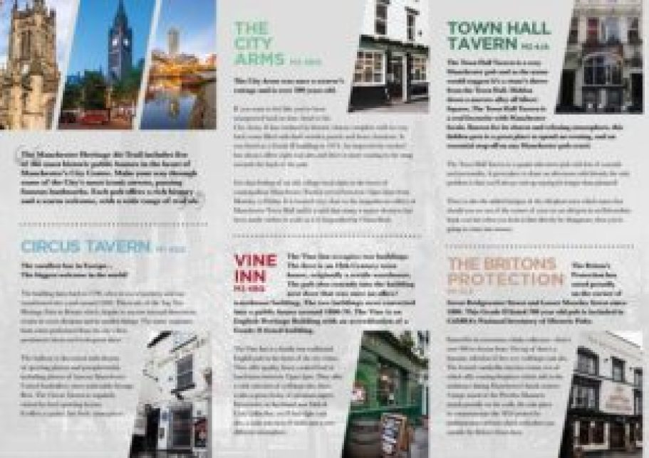 The Manchester Heritage Ale Trail guide