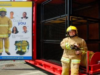 Cheshire Fire recruitment