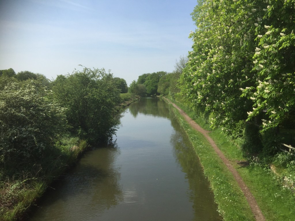 Looking down the Bridgewater Canal
