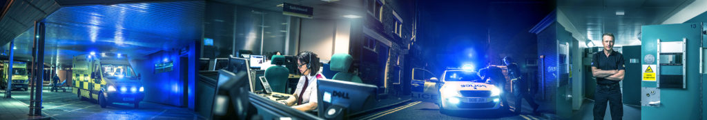 PC Karl Dickin from Cheshire Police is in 999: What's Your Emergency? banner