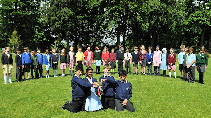 Navigation Road Primary School pupils have won the St Ambrose College maths challenge