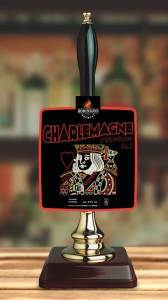 Charlemagne beer made in conjunction with Blossoms