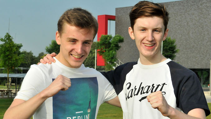 Josh Travers and Felix McDermott