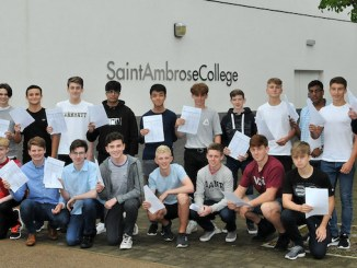 St. Ambrose College students best ever progress