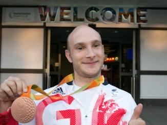 Andy Small won a medal at the Rio Paralympics