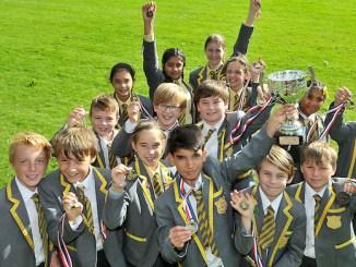 Greenbank Preparatory School's water polo champions