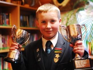 Manchester Grammar School pupil Sam Fitzsimons