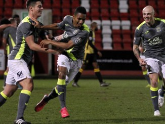 Kaine Felix scores as Stockport County win 1-0 at Gloucester City