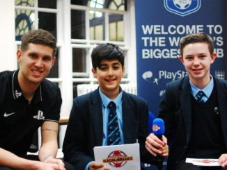 John Stones with Aryan Abrol and Daniel Rose