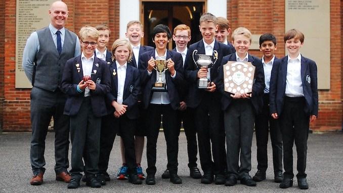 The Manchester Grammar Junior School's under-11 cricket team