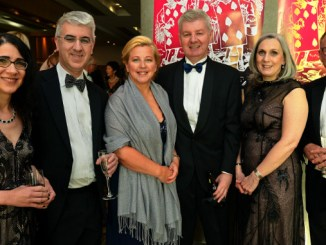 Ball sponsors and long-time Seashell Trust supporters PZ Cussons and guests