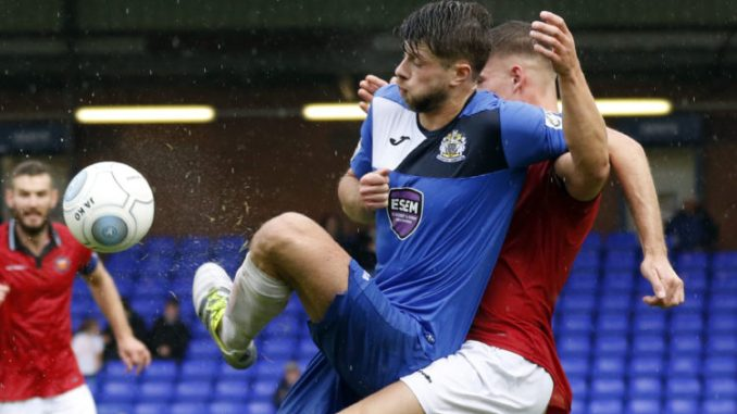 Jason Oswell, Stockport County 3-3 FC United