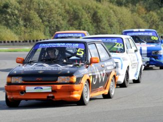 Greg Speight wins in XR2's at Oulton Park