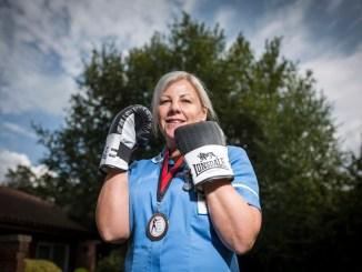 St An's Hospice nurse Caroline Pollitt