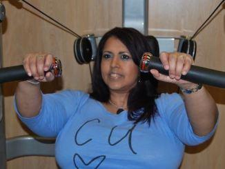 Anita Nickson working out at Life Leisure Avondale