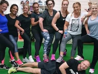Lean Body Project members after a HIIT session
