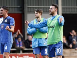 Stockport County beat FC United 1-0 at Broadhurst Park