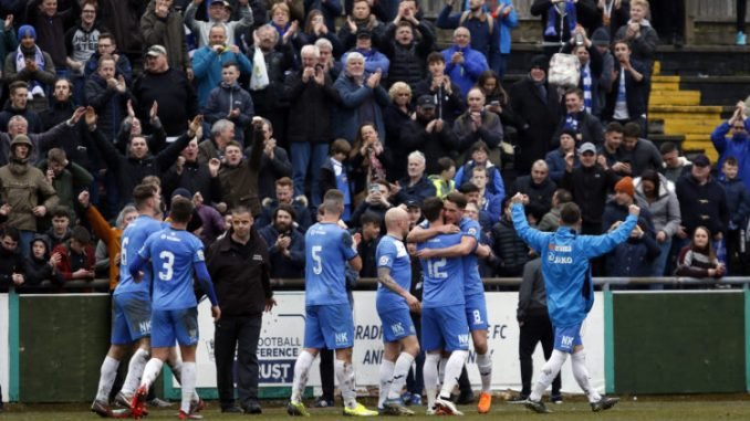 Jimmy Ball scored the winner in injury time for County
