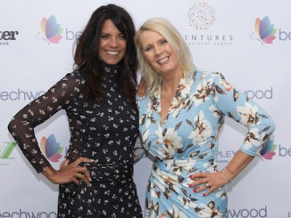 Beechwood's Angela Gray with TV presenter Jenny Powell