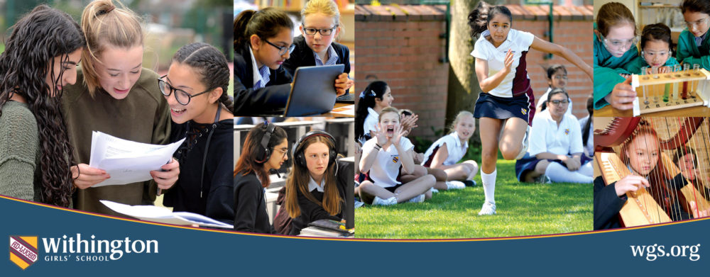 Withington Girls School advert