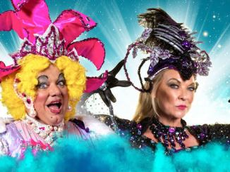 Ted Robbins and Claire King are back at Stockport Plaza for Sleeping Beauty
