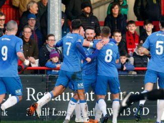 Matty Warburton. Altrincham FC 0-1 Stockport County FC. Vanarama National League North. 1.1.19