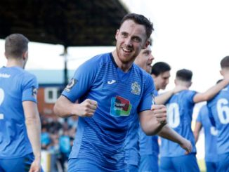 Jordan Keane celebrates his goal