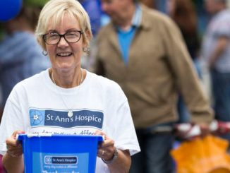 St Anns Hospice charity collection