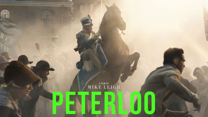 Peterloo film poster