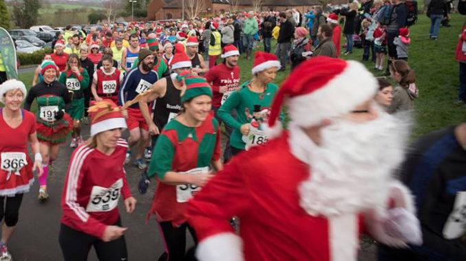Manchester Christmas Pudding 5 Mile Dash