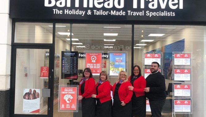 The team at Barrhead Travel in Stockport