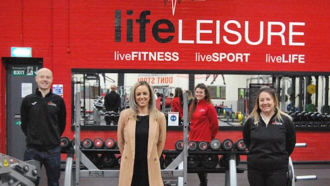 Life Leisure fitness staff