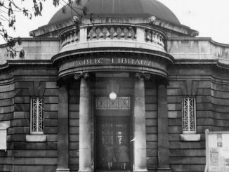 Chorlton Library in 1984
