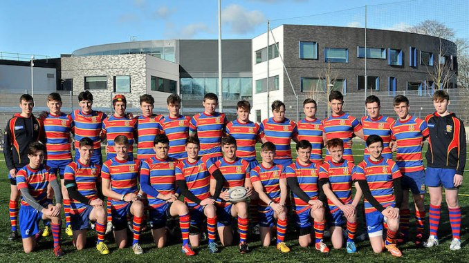 St Ambrose under-18 rugby team