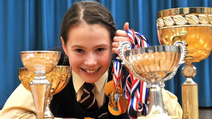 Loreto Preparatory School swimmer Natalia Farr