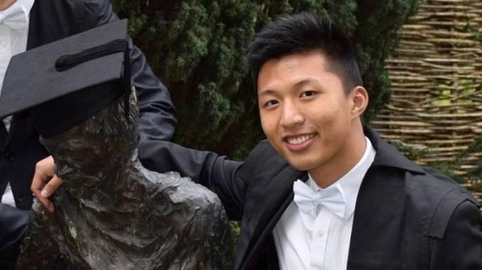 Manchester Grammar School pupil Tony Liu