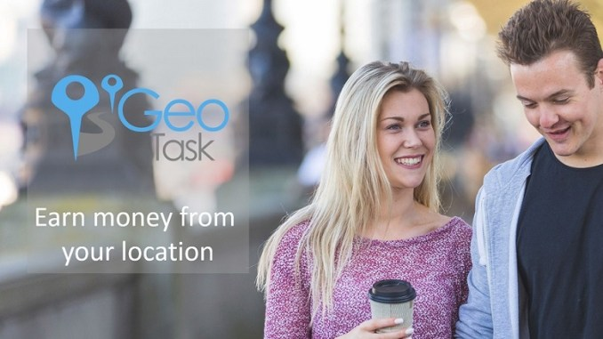 GeoTask earn money from your Stockport location