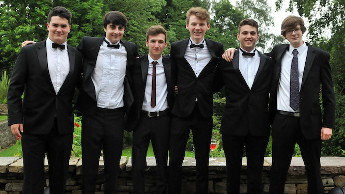 King's School sixth-formers mark the end of an era