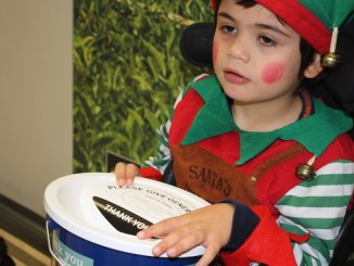 Seashell Trust student Cayman Norton will be joining Enterprise Rent A Car staff on their Santa Run