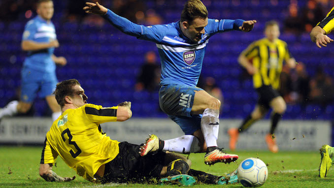 Stockport County 1, Harrogate Town 1: Hatters held after bizarre own goal