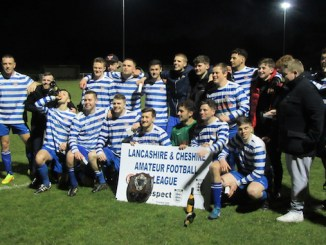 Moorside Rangers seconds with the Hellawell Shield