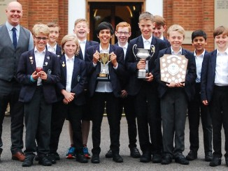 The Manchester Grammar Junior School's under-11 cricket team