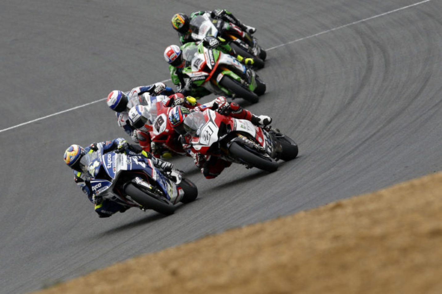 Christian Iddon heads the pack at Brands Hatch